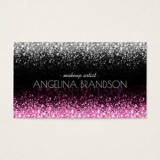 Schitter de Witte & Roze Kaart van de Kunstenaar
