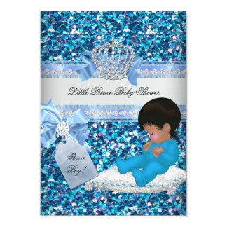Schitter het Blauw van de Jongen van het Baby Kaart