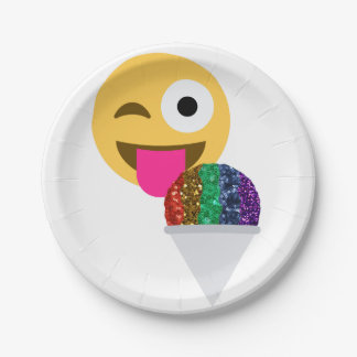 schitter knipogen emojidocument borden papieren bordje
