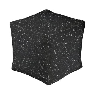 Schitter Stars2 - Zilveren Zwarte Vierkant Zitkussen