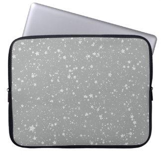 Schitter Stars4 - Zilver Computer Sleeve