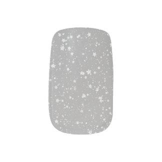 Schitter Stars4 - Zilver Minx Nail Folie