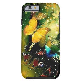 Schitterende de vlindersiPhone 6, Vibe van Girly Tough iPhone 6 Hoesje