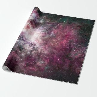Schitterende Kleurrijke Nevel Inpakpapier