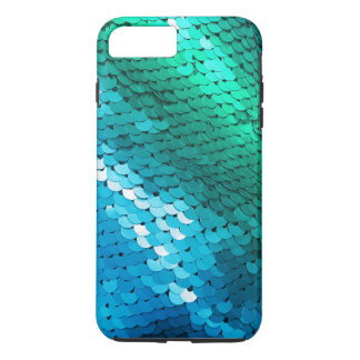 Schittert de Blauwgroene Wintertaling van het iPhone 8/7 Plus Hoesje