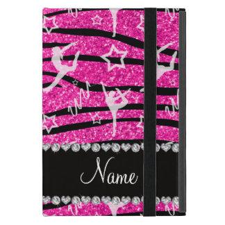 Schittert de hete roze gymnastiek van het neon iPad mini hoesje
