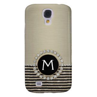 Schittert de Moderne Horizontale Streep van het ar Galaxy S4 Hoesje