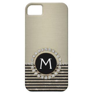 Schittert de Moderne Horizontale Streep van het Barely There iPhone 5 Hoesje