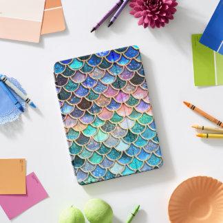 Schittert de Roze Meermin van Aqua Schalen - de iPad Pro Cover