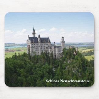 Schloss Neuschwanstein Mousepad Muismat