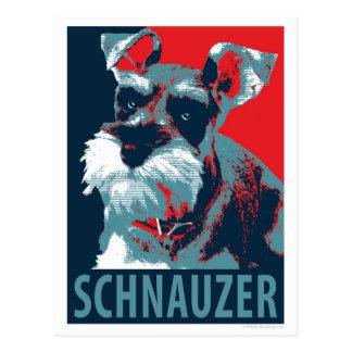 Schnauzer door de Honden van de Hoop Briefkaart