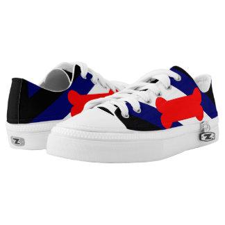 Schoenen van Zipz van de Douane van de Vlag van de