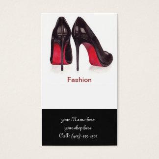 schoenen Visitekaartje Visitekaartjes