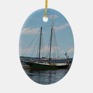 Schoener Keramisch Ovaal Ornament