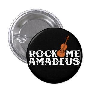 Schommel me Retro Knoop van het Talent Amadeus Ronde Button 3,2 Cm