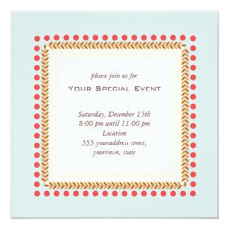 Schone en Elegante Uitnodiging