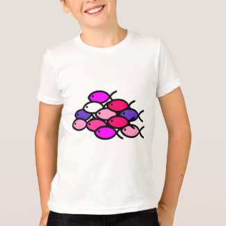 School van de Christelijke Symbolen van Vissen - T Shirt