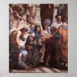 School van de Druk van het Canvas van Athene (Eucl Posters