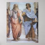 School van het Poster van Athene