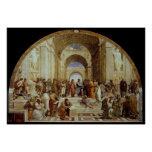 """School van Raphael de """"van Athene"""" (circa 1511)"""