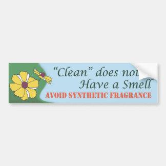 """""""Schoon"""" heeft geen geur - de Sticker van de Bumpe"""