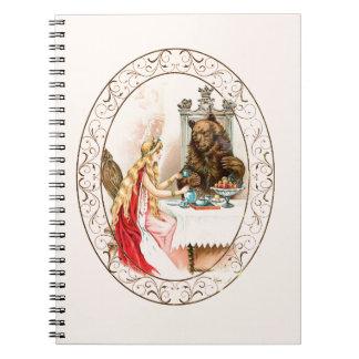 Schoonheid in Roze en het Dier Ringband Notitieboek
