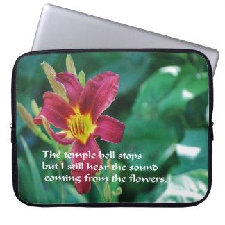 Schoonheid van bloemen laptop hoesjes