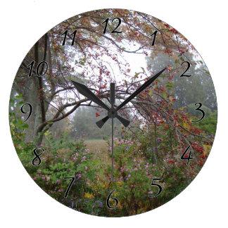 Schoonheid van de Mist van de Herfst Grote Klok