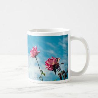 Schoorsteen en wilde rozen koffiemok