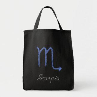 Schorpioen. Het Teken van de Astrologie van de die Draagtas