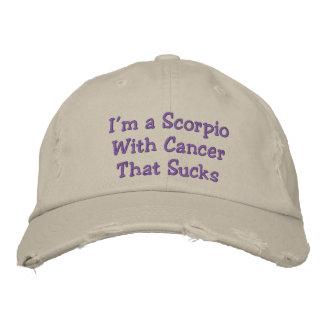 Schorpioen met Kanker die, Verontruste Hoed zuigt Petten 0