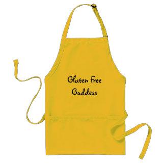 Schort van de Godin van het gluten de Vrije