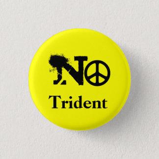 Schot Geen Kenteken van de Knoop van Trident Ronde Button 3,2 Cm