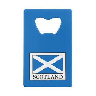 Schotland Creditkaart Flessenopener