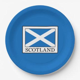 Schotland Papieren Bordje