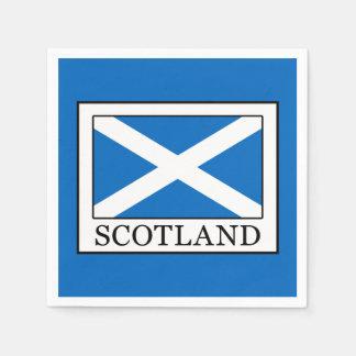 Schotland Papieren Servet