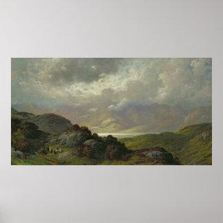 Schots Landschap Poster