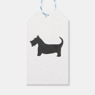 Schots Terrier Cadeaulabel