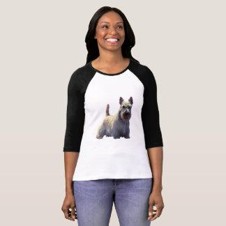Schots zwart/wheaten Terrier, status T Shirt