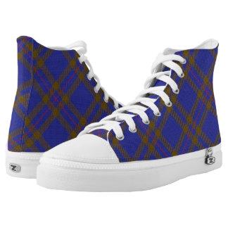 Schotse Clan Elliot Elliott Tartan High Top Schoenen