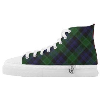 Schotse Clan Graham Drie de Hoge Hoogste High Top Schoenen