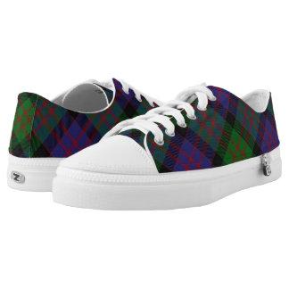 Schotse Clan MacDonald Donald Tartan Low Top Schoenen