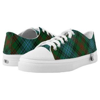 Schotse Clan Ross Hunting Tartan Low Top Schoenen