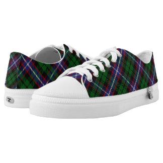 Schotse Clan Russell Tartan Low Top Schoenen