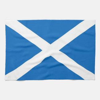 Schotse Handdoek Saltire (correcte kleur)
