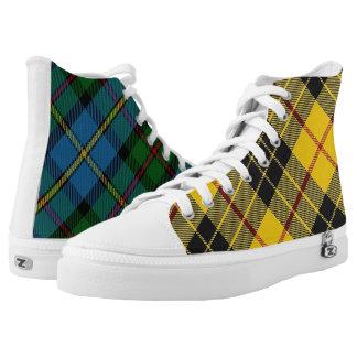 Schotse Schrijver uit de klassieke oudheid Twee High Top Schoenen