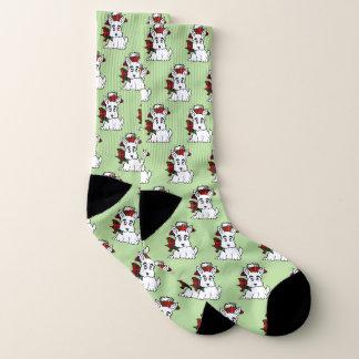 Schotse Terriers Uw AchtergrondKleur Sokken