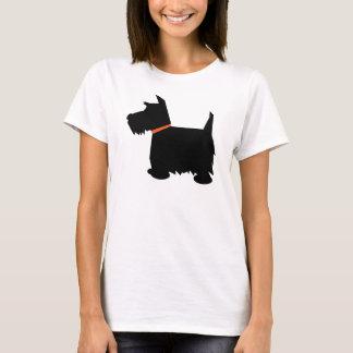 Schotse van het de hondsilhouet van Terrier de T Shirt