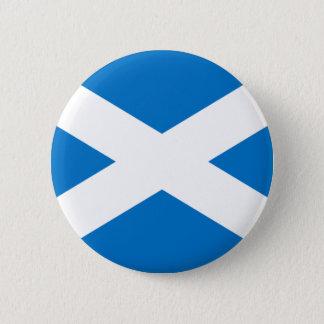 Schotse Vlag Ronde Button 5,7 Cm