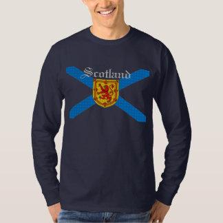 Schotse Vlag Schotland Ongebreideld Lio… - T Shirt